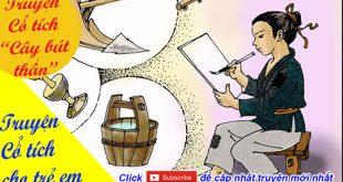 Truyện cổ tích cho trẻ em: Truyện cổ tích Cây bút thần