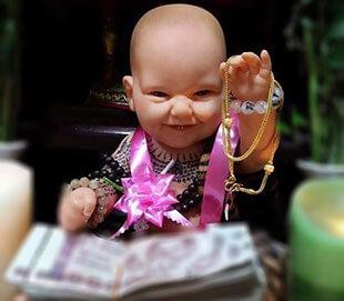 Bùa KumanThong - Quỷ linh nhi những bí ẩn đằng sau