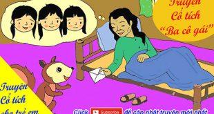 Truyện cổ tích cho trẻ em: Truyện cổ tích Ba cô gái