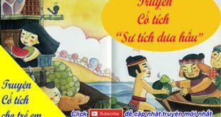 Truyện cổ tích cho trẻ em: Truyện cổ tích Sự tích dưa hấu